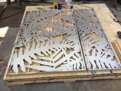 detailed waterjet cut panels
